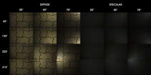 PBR Texture Scan - Paver Tile