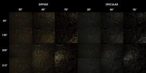 PBR Texture Scan - Wood Chip